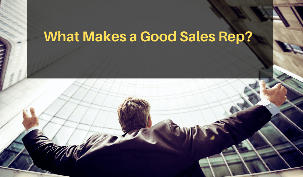 What Makes a Good Sales Rep?