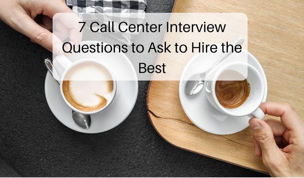 call center interview