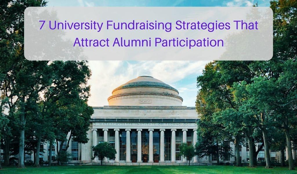 university fundraising strategies