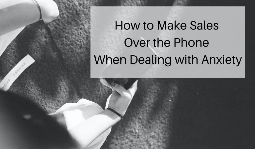 how to make sales over the phone